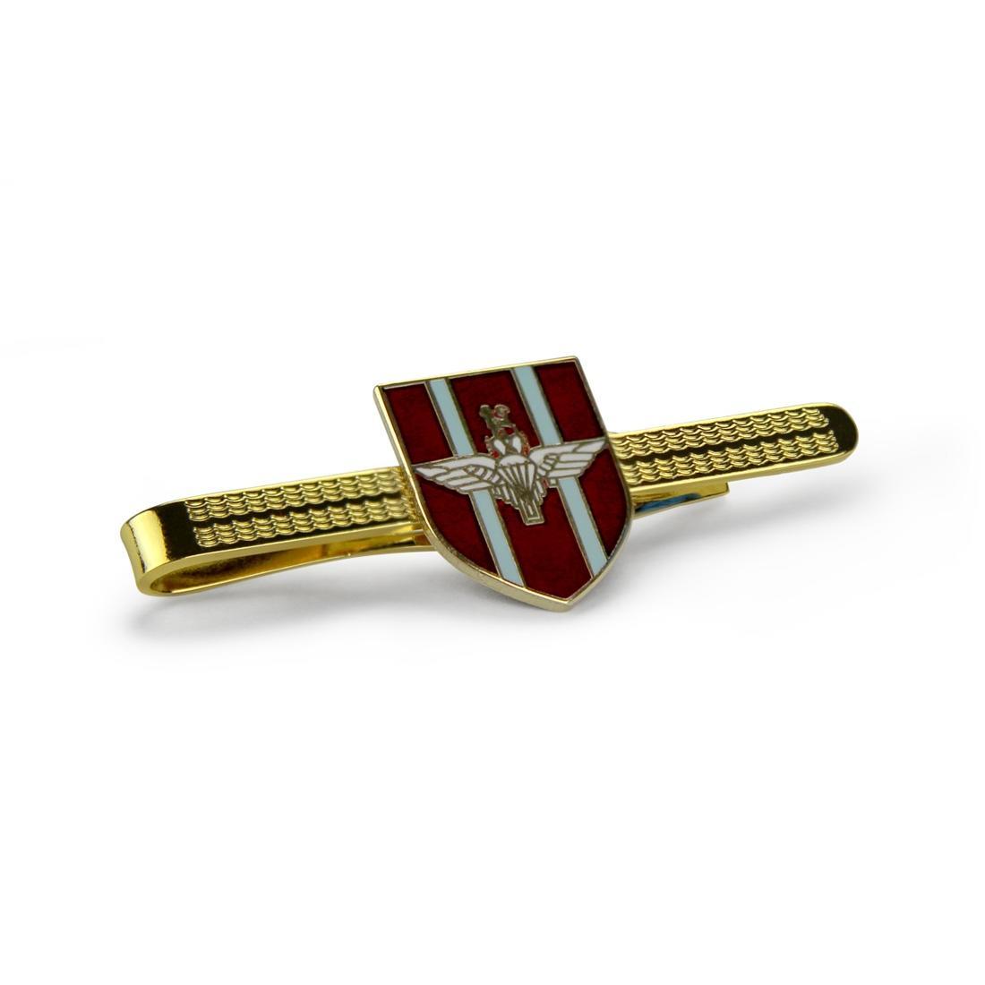 Para Shield Tie Slide (Enamel Badge on Metal Slide)