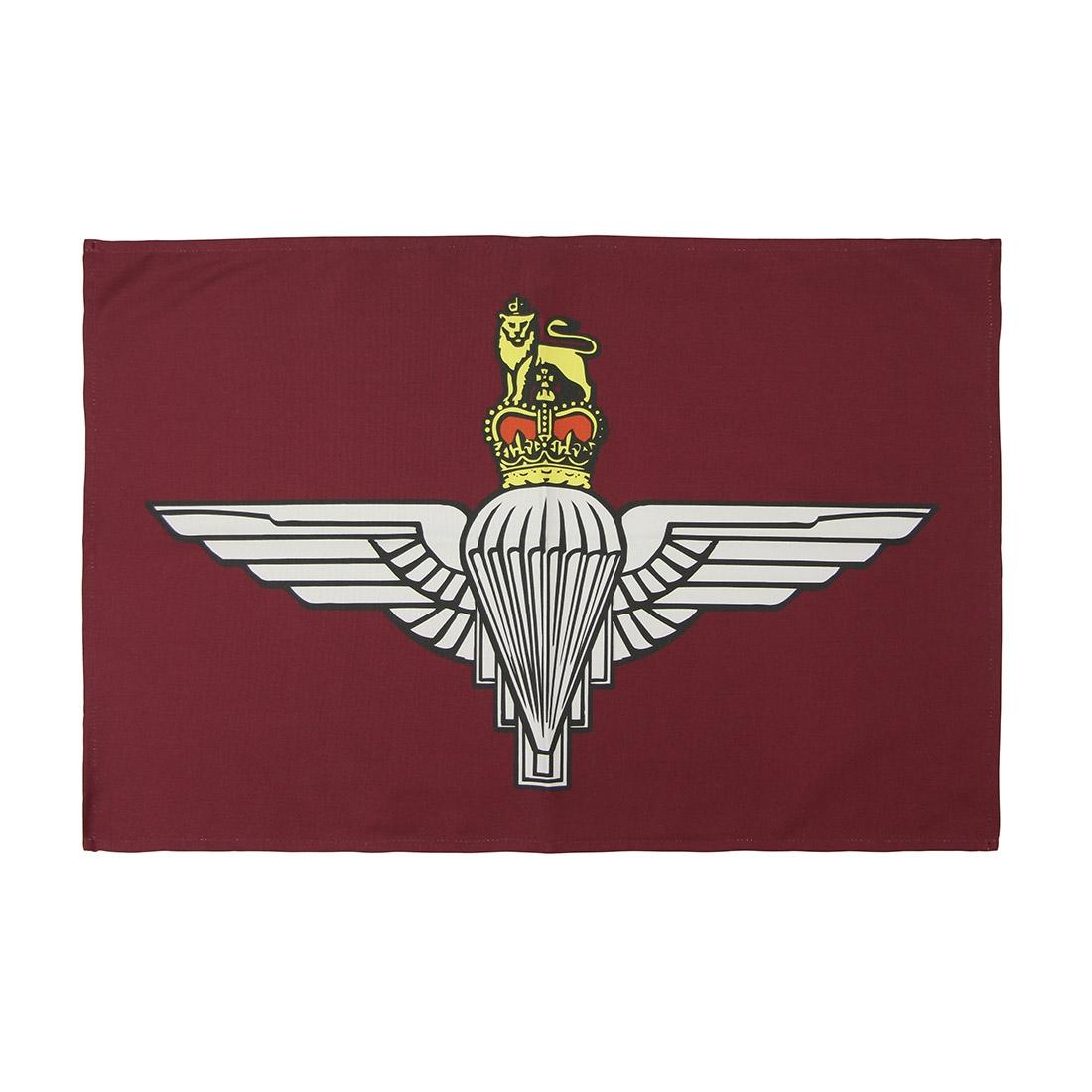 Tea Towel, Maroon Parachute Regiment