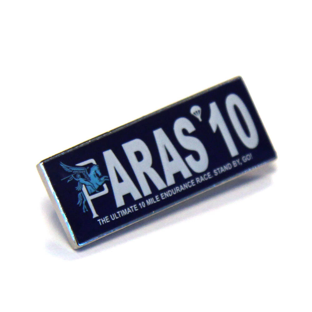 Paras' 10 Lapel Badge