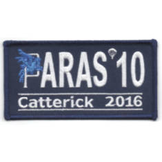 Paras 10 Woven Patches - Catterick 2016