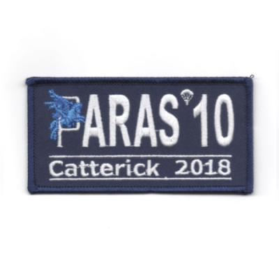Paras 10 Woven Patches - Catterick 2018