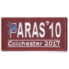 Paras 10 Woven Patches - Colchester 2017
