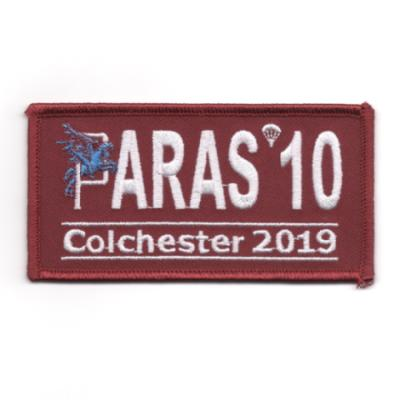 Paras 10 Woven Patches - Colchester 2019