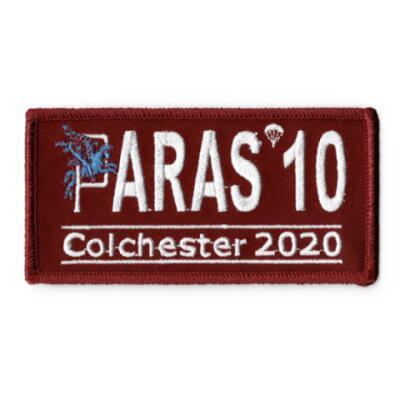 Paras 10 Woven Patches - Colchester 2020