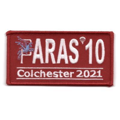 Paras 10 Woven Patches - Colchester 2021