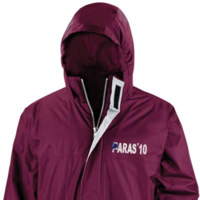 Parka Jacket - Maroon - Paras 10