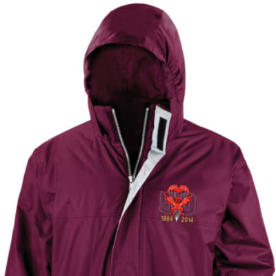 Parka Jacket - Maroon - Red Devils 50th