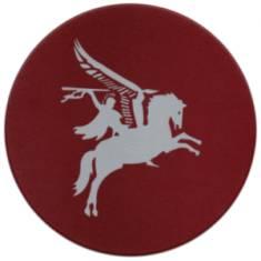 Pegasus Round Mousemat