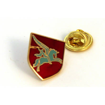 Pegasus Shield Lapel Badge