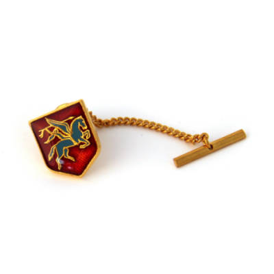 Pegasus Shield Tie Tack or Lapel Pin