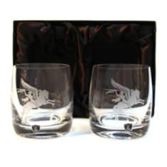 Pegasus Whisky Glasses (Pair) In Gift Box