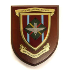 Plaque - 15th Para (Scottish Battalion)