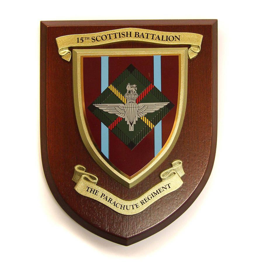 Plaque - 15th Para (Scottish Battalion)