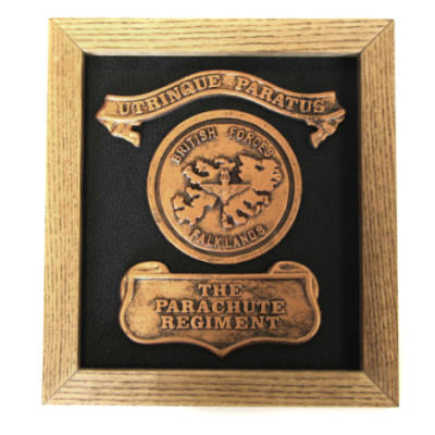 Plaque - Falkland Islands (Wooden Frame)