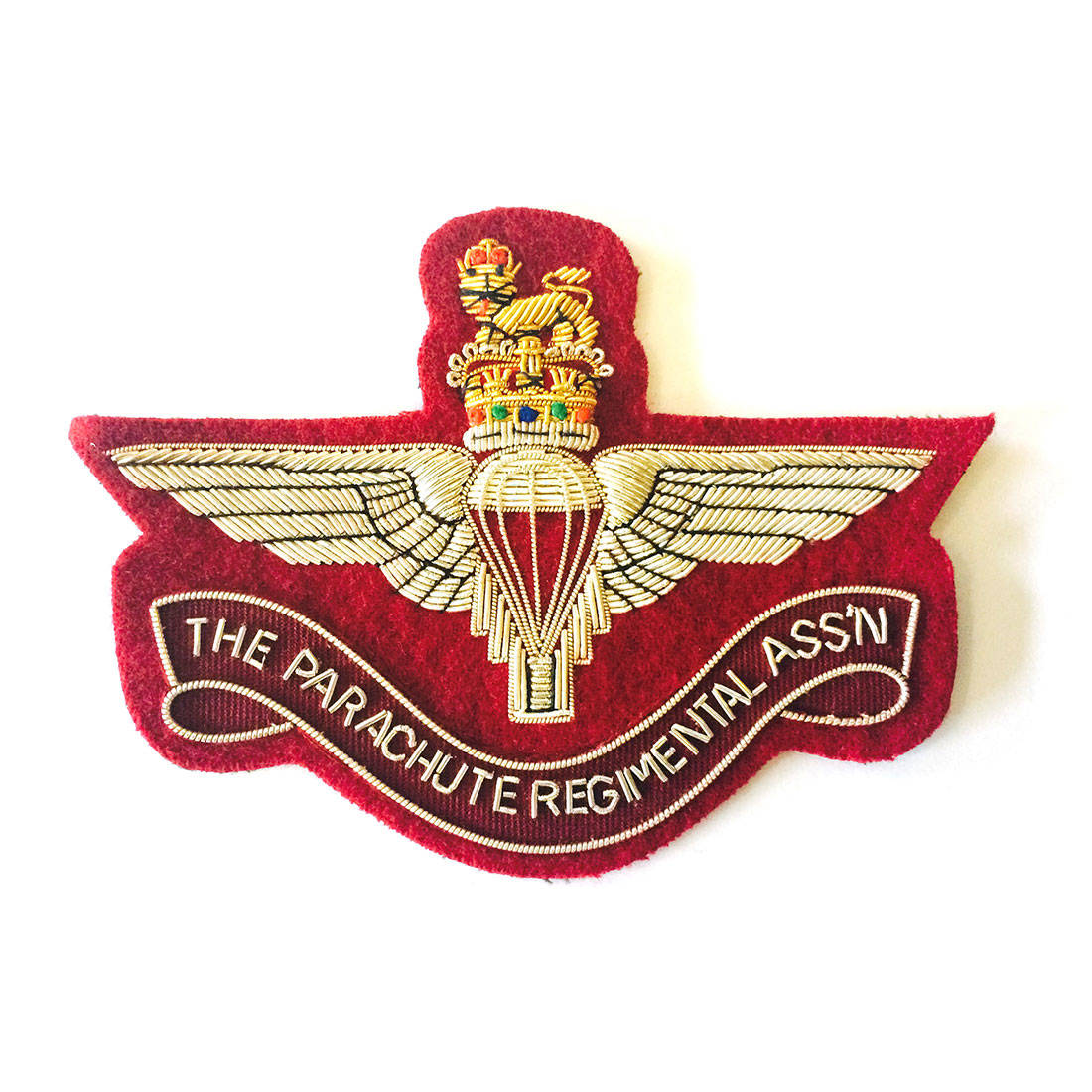 Parachute Regimental Association (PRA) Maroon Blazer Badge