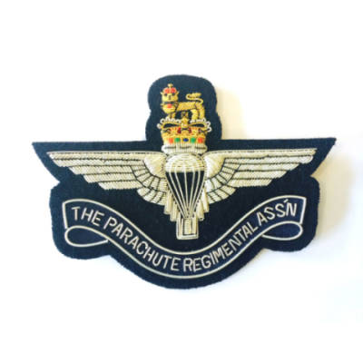 Parachute Regimental Association (PRA) Navy Blazer Badge