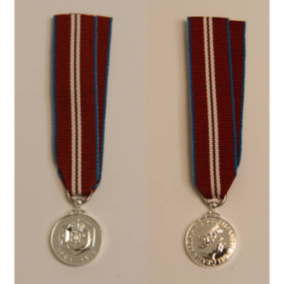 Queen's Diamond Jubilee 2012 Miniature Medal