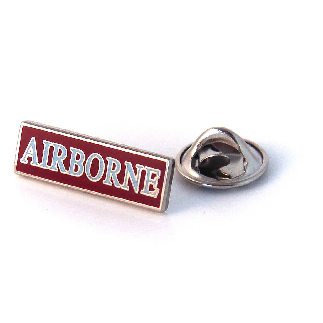 Rectangular 'AIRBORNE' Lapel Badge