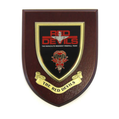 Plaque - The Red Devils