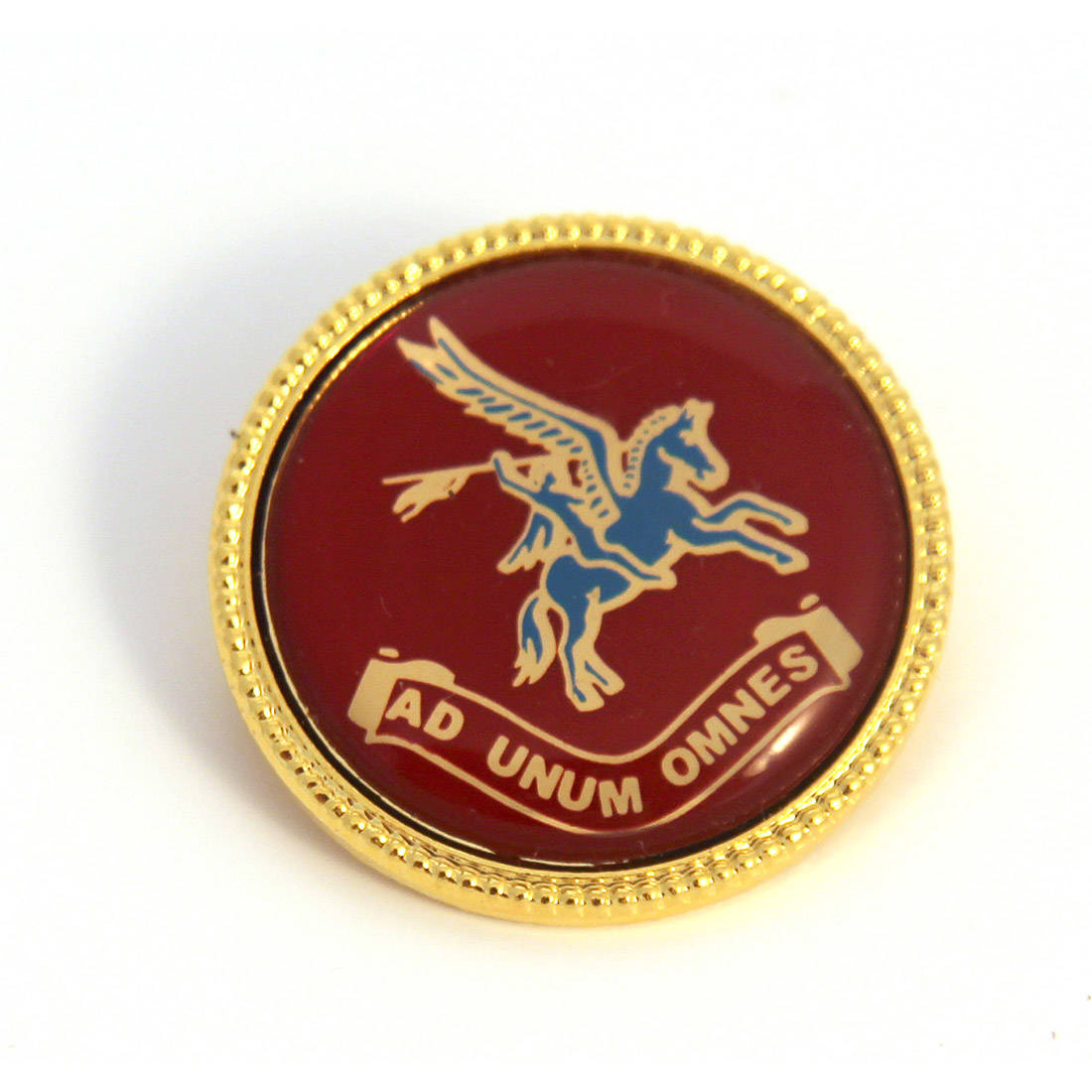 Round Pegasus Brooch