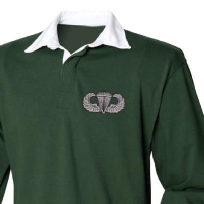 Rugby Shirt - Green - USA Wings