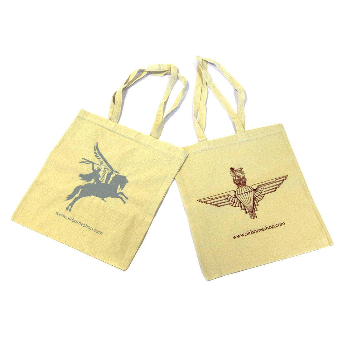 Cotton Shopping Bag with Para or Pegasus
