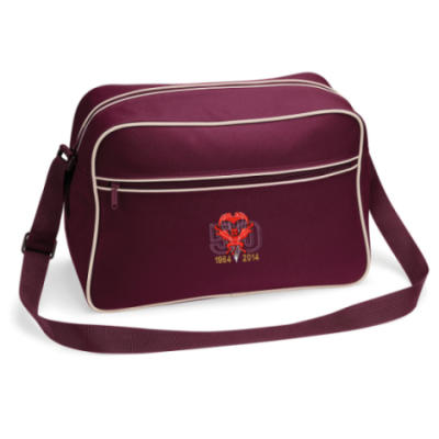 Retro Shoulder Bag - Maroon - Red Devils 50th