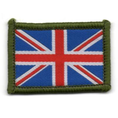 Small Union Jack Patch