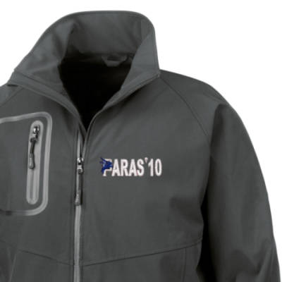Softshell Jacket - Black - Paras 10