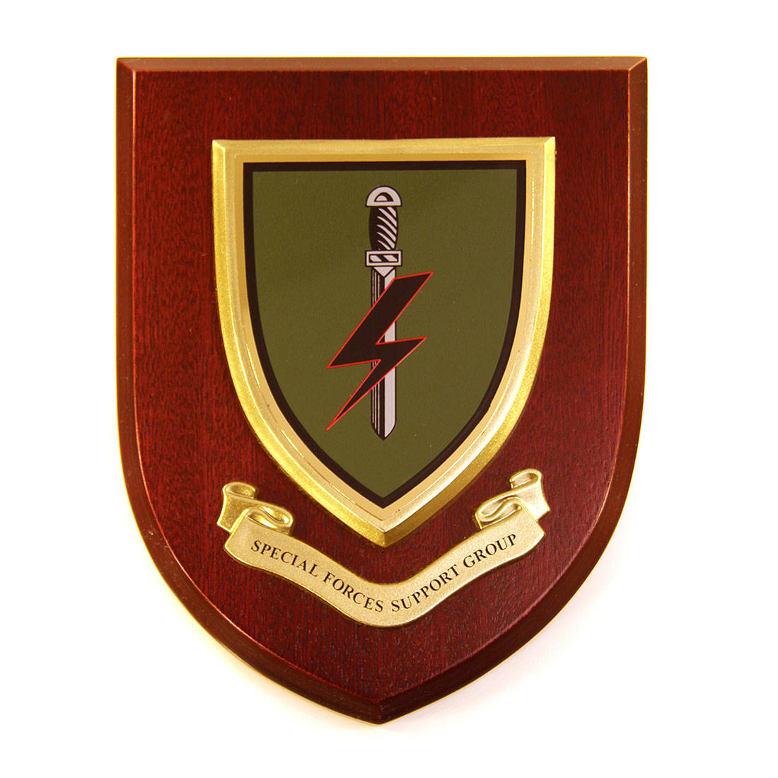 Plaque - 1 Para Special Forces Support Group