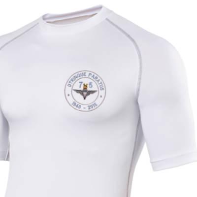 Short Sleeved Rash Top - White - Airborne 75 (Para)