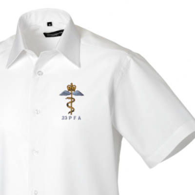 Short Sleeved Shirt - White - 23 PFA