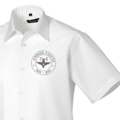 Short Sleeved Shirt - White - Airborne 75 (Para)