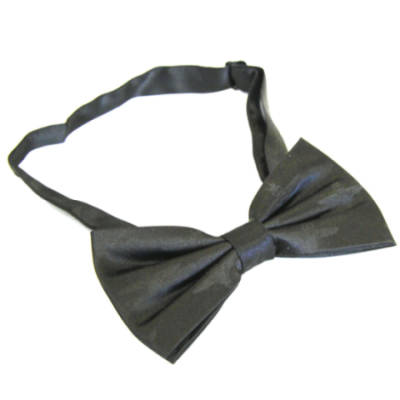 Black Subdued Parachute Regiment Bow Tie (Silk)
