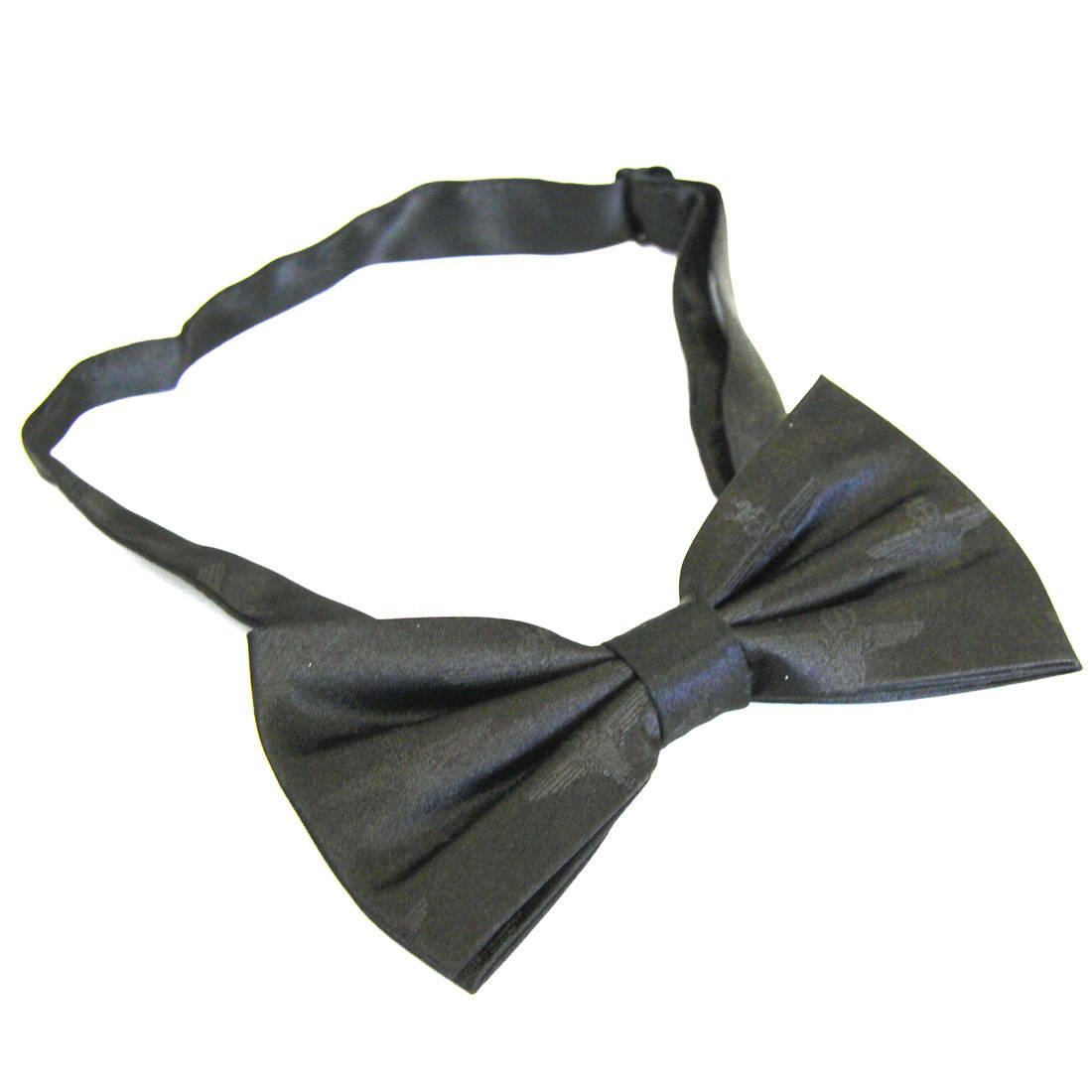 Black Subdued Parachute Regiment Bow Tie (Silk)