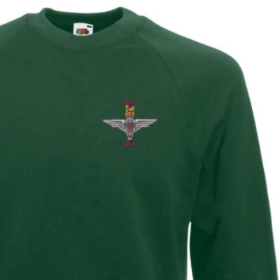 Sweatshirt - Green - 1 Para (Battalion Numerals)