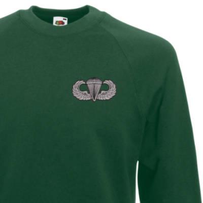 Sweatshirt - Green - USA Wings