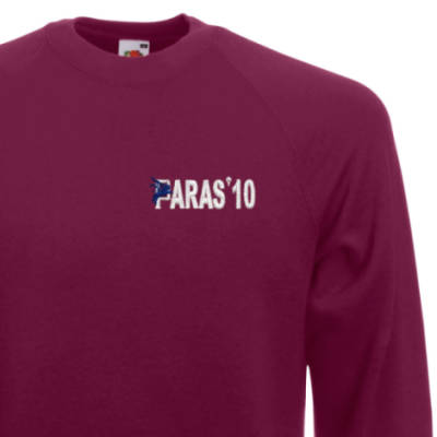 Sweatshirt - Maroon - Paras 10