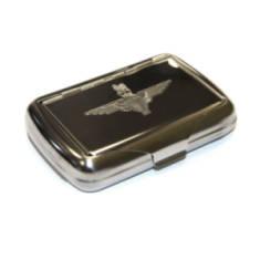 Engraved Tobacco Tin - Para or Pegasus