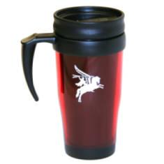 Maroon Travel Mug - Pegasus