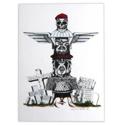 Totem Pole by Craig Johnson (Print)