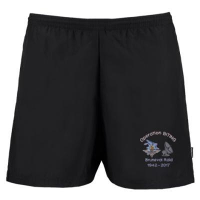 Track Shorts - Black - Bruneval Raid (Operation Biting) 75th