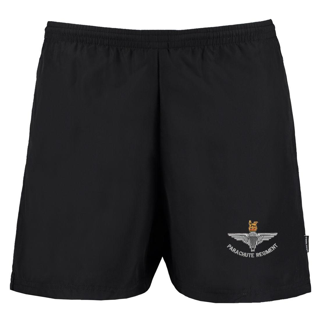 Track Shorts - Black - Para Cap-Badge