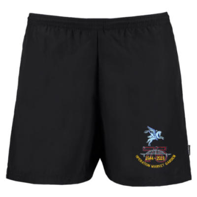Track Shorts - Black - Operation Market Garden 75th (Pegasus)