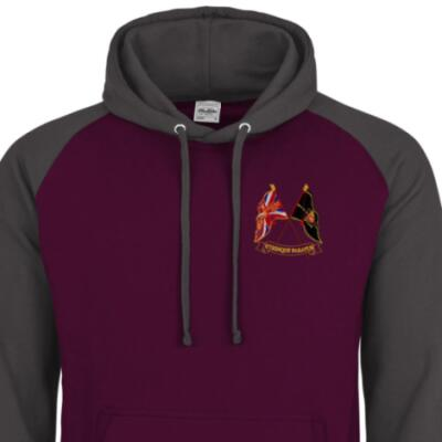 Two-Tone Hoody - Maroon / Grey - Presentation of Colours 2021