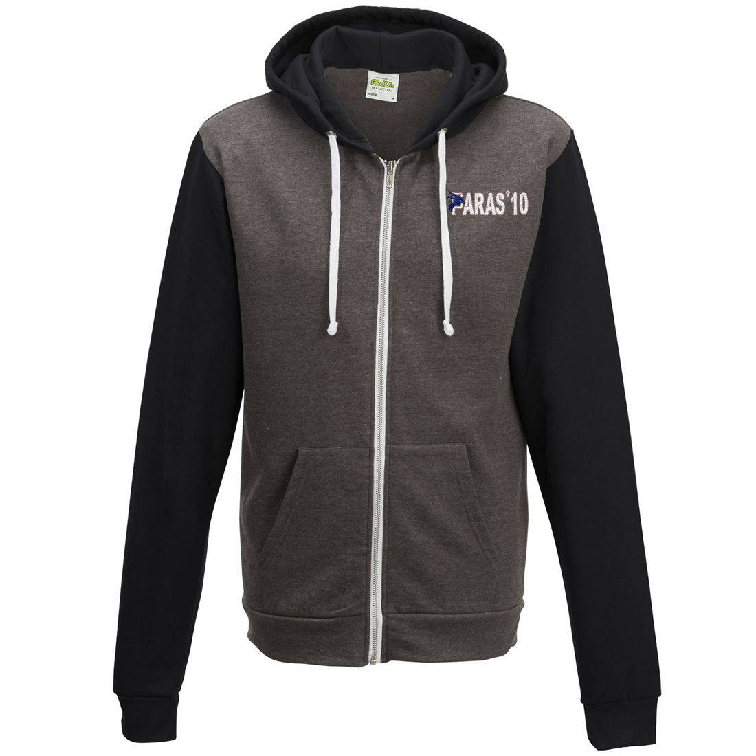 Two-Tone Zip Up Hoody