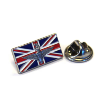 Union Jack Parachute Regiment Lapel Badge