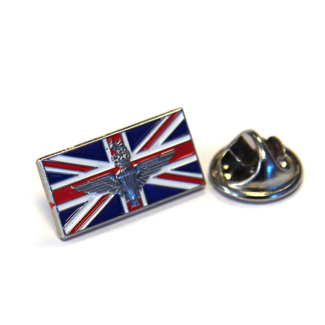 Union Jack Parachute Regiment Lapel Badge