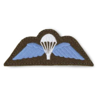 Velcro Cloth Jump Wings Patch