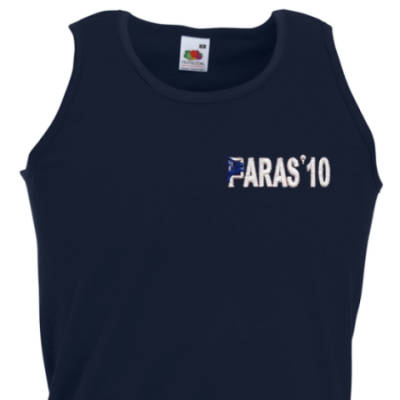 Athletic Vest - Navy - Paras 10